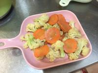 白花椰菜炒紅蘿蔔