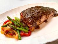 芥末醬鮭魚菲力排