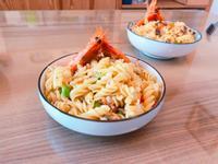 香蒜海鮮義大利麵