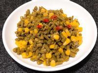 酸豇豆炒玉米粒~全素