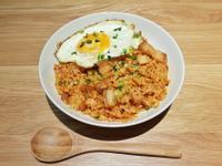 韓式厚切豬五花泡菜炒飯