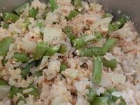 四季豆洋蔥炒飯