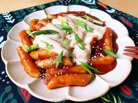 韓式起司辣炒年糕(簡易)