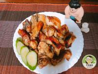 蒜香烤雞~水波爐料理