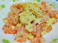 蝦仁炒蛋~簡單快速健康料理