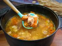 義式香料南瓜燉豚肉