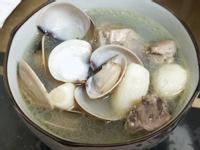蒜頭蛤蠣雞湯-使用飛利浦智慧萬用電子鍋