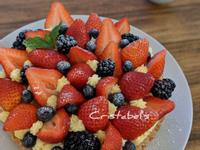 莓果草莓塔(八吋)