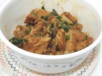 泡菜味增油豆腐炒肉末