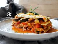 五種蔬菜千層麵