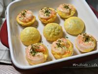 蝦仁蛋蛋燒~野餐必學(BRUNO電烤盤)