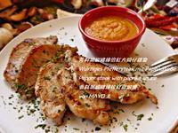 芳料胡椒豬排佮紅大同仔搵醬