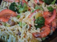 地瓜海鮮義大利麵