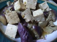 蠔油豆腐炒茄子
