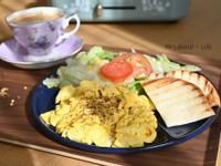 香料炒蛋|電烤盤快速早餐(平底鍋也可以)