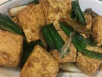 簡易蔥燒豆腐