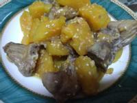 橙汁地瓜排骨