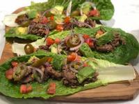 墨西哥風味生菜包肉