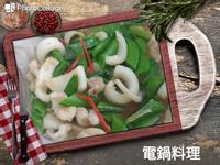 甜豆炒花枝