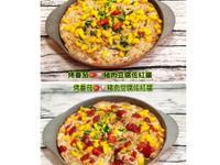 烤番茄豬肉豆腐佐紅醬(水波爐料理)