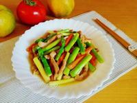 蘆筍炒肉絲