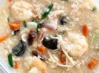 海鮮粥 seafood porridge