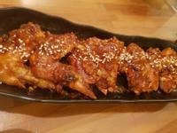韓式辣醬燒烤雞翅