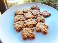 楓葉造型奶油餅乾