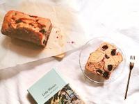 藍莓巧克力雙色磅蛋糕