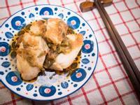 微波爐柚子醋醬油佐嫩雞胸肉