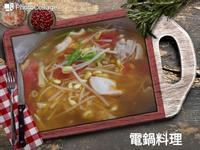 蕃茄豆芽湯