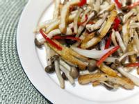 魚板炒鴻喜菇(便當菜)