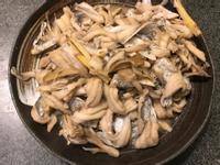 麻香舞菇薑燒白帶魚片