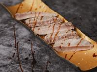 低醣料理 <海鮮> 炙燒鮪魚排佐檸香酒醋