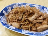 香煎薑絲豆腐