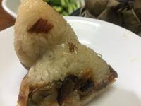陽春版的蚵粽(海線特有美食)