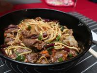 沙茶牛肉燴麵