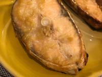 味噌蒜烤鮭魚