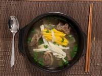 韓式牛骨湯 갈비탕