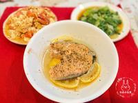 香蒸檸檬鮭魚(電鍋版)