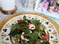 低醣料理 <沙拉> 紅酒紫蔥透抽沙拉