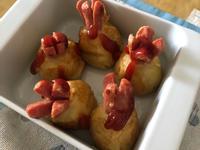 簡單薯蓉腸仔