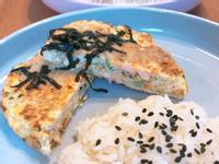 鮭魚豆腐排
