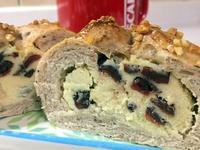 黃豆蔓越莓奶酥麵包*豆渣再利用