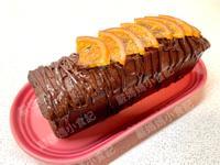 香橙巧克力磅蛋糕(分蛋法)