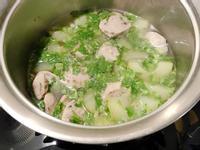 大黃瓜貢丸湯