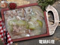 絲瓜瘦肉粥