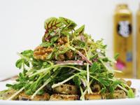 【蔬食料理】天貝與核桃孜然沙拉