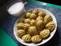抹茶芋香瑪德蓮「派對甜食類」