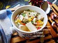 番麥豆腐湯
